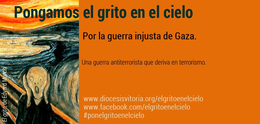 Por la guerra injusta de Gaza