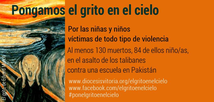 Niñas y niños víctimas de todo tipo de violencia