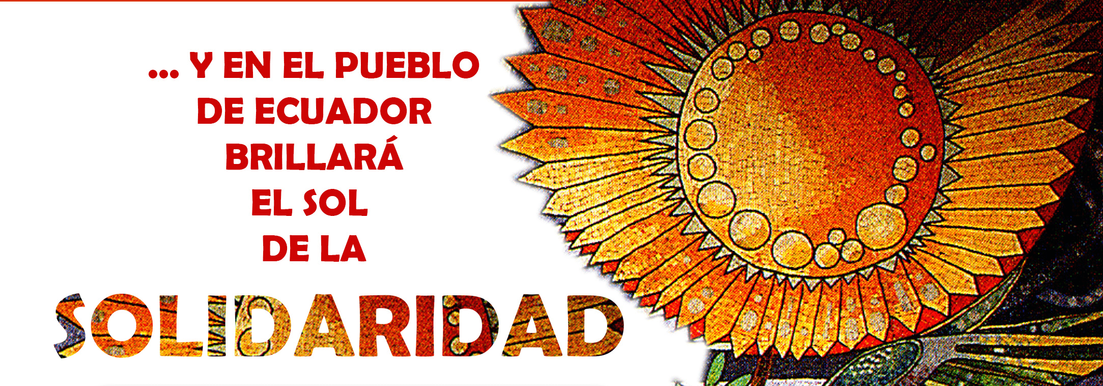 Solidaridad con Ecuador