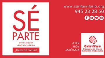 Sé parte de la Solución contra la pobreza ¡Házte de Cáritas!