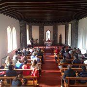 Musical Contigo - misa en el Seminario