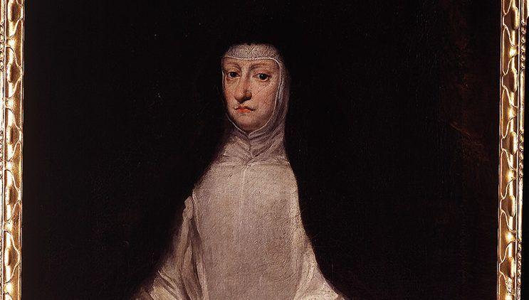 Retrato de Mariana de Austria