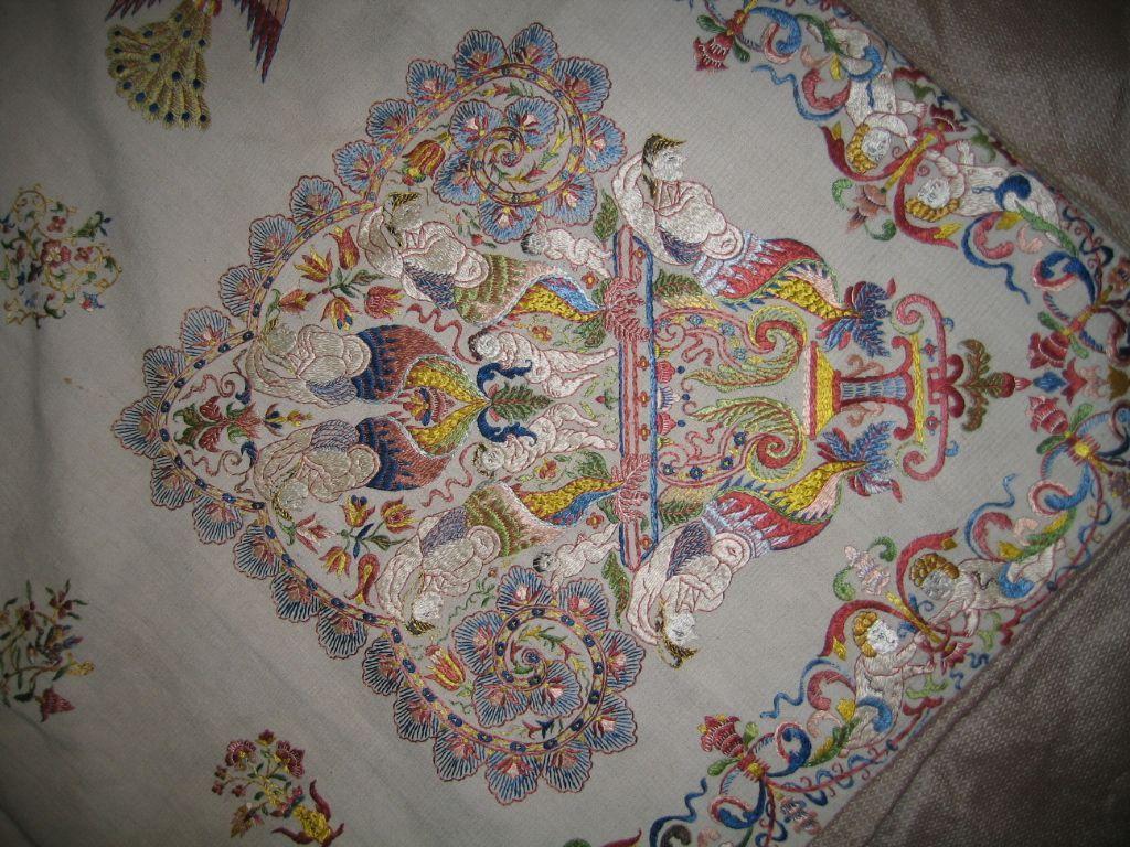 Palio de Seda, de Manurga, en el Museo de Arte Sacro