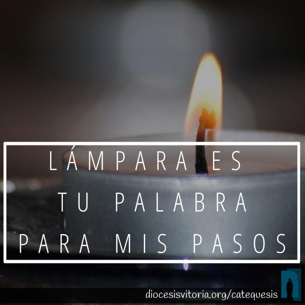 Lampara es tu Palabra - 12mar18