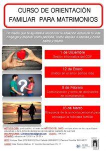 Curso de orientación familiar para matrimonios
