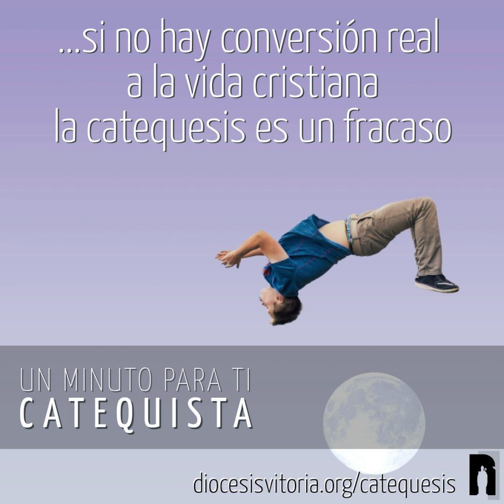La renovación de la catequesis «tiene que estar centrada en la promoción de la fe y de la conversión personal»