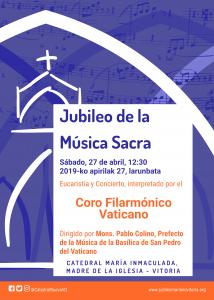 Jubileo de la Música Sacra y Concierto del Coro Filarmónico del Vaticano
