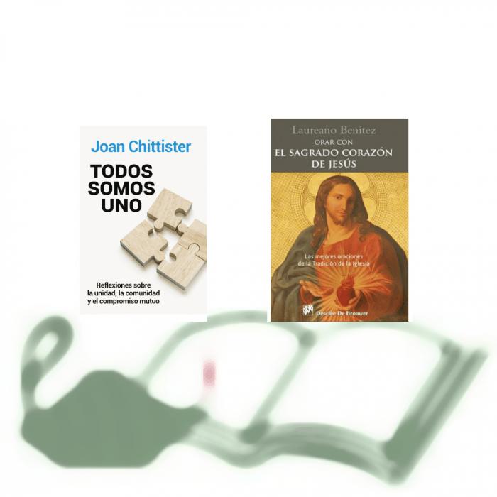 Unidad y comunidad (J. Chittister), y Sagrado Corazón (L. Benítez), en la Librería Diocesana