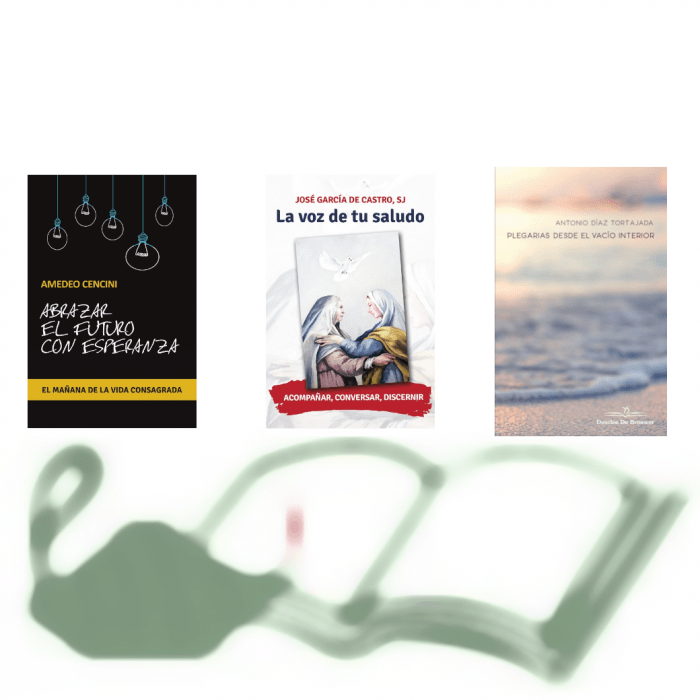 Vida consagrada (A. Cencini), interioridad (J. García de Castro) y oración (A. Díez Tortajada), en la Librería Diocesana