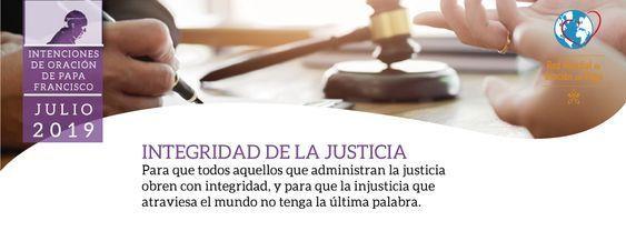 Julio 19 - Integridad de la justicia